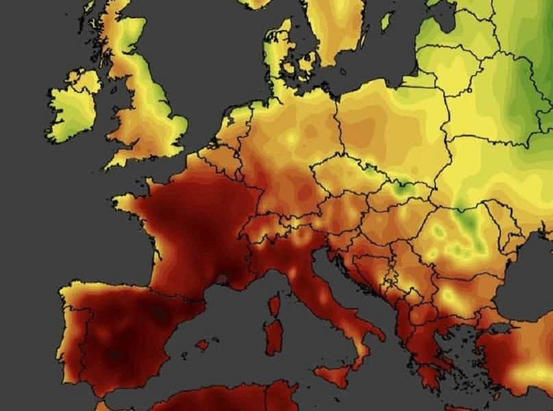 The Heat Wave Across Europe Reveals an Ongoing Climate Change Crisis