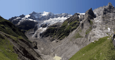 The Melting Glaciers of the Alps are a Chilling Testament to Climate Change